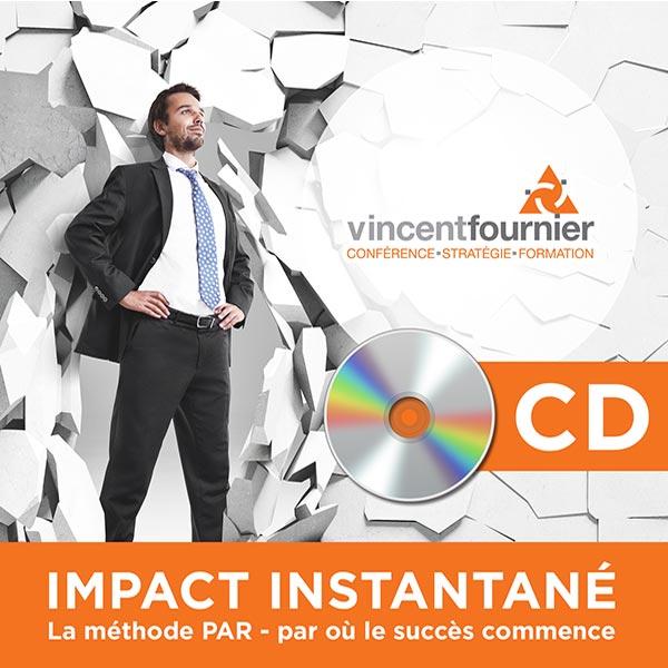 Visuel du cd audio Impact Instantané de Vincent Fournier