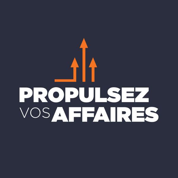 Logo de la formation Propulsez vos affaires de Vincent Fournier